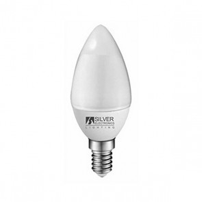 Lampadina LED Candela Silver Electronics ECO E14 4W Luce calda
