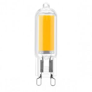 Lampadina Led Silver Electronics ECO G9 3000K 3W Luce calda