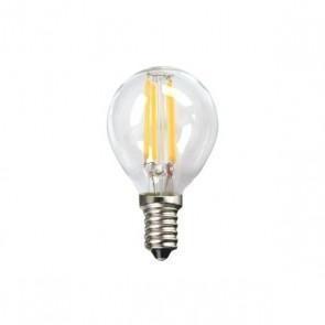 Lampadina LED Sferica Silver Electronics 1960314 E14 4W 3000K A++ (Luce calda)