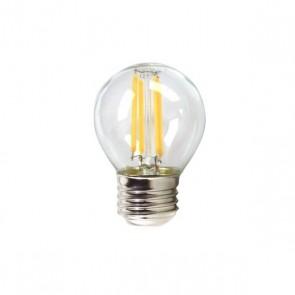 Lampadina LED Sferica Silver Electronics 1960327 E27 4W 3000K A++ (Luce calda)