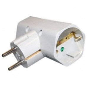 Adattatore per Prese Silver Electronics 3500W Bianco