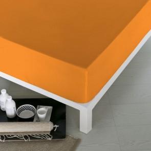 Lenzuolo con angoli aderenti Naturals Arancio