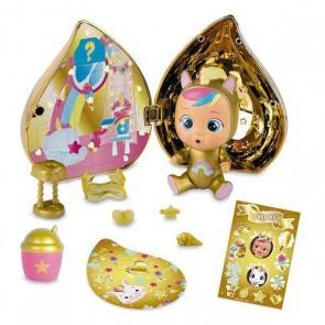 Bambolotto Bebè con Accessori IMC Toys Crying Dorato (11 cm)