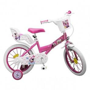 """Bicicletta per Bambini Minnie Toimsa (16"""")"""