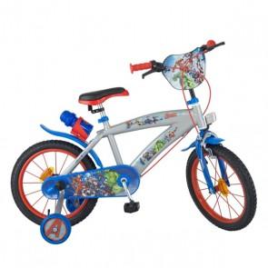 """Bicicletta per bambini The Avengers 16"""" Grigio"""