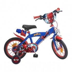 """Bicicletta per Bambini Spiderman Toimsa (14"""")"""