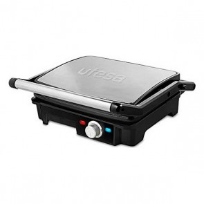 Grill a Contatto UFESA PR2000 2200W Nero Acciaio inossidabile