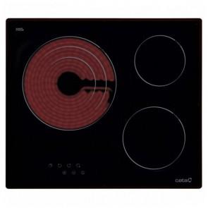 Piano cottura in vetroceramica Cata TT 603 60 cm (3 Fuochi)