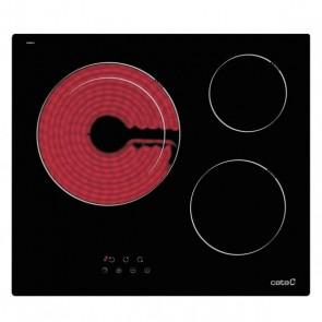 Piano cottura in vetroceramica Cata TDN603 60 cm (3 Fuochi)