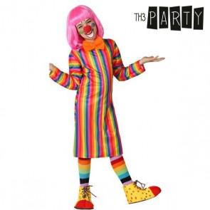Costume per Bambini Pagliaccio donna