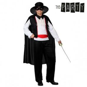 Costume per Adulti 1199 Uomo mascherato (5 Pcs)