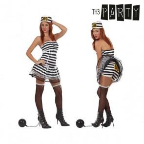 Costume per Adulti Th3 Party Carcerata sexy