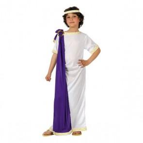Costume per Bambini 116968 Romano Bianco Viola (2 Pcs)