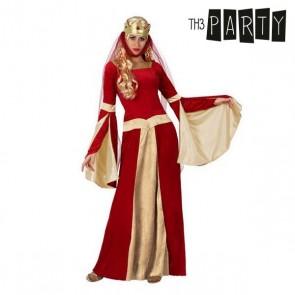 Costume per Adulti Dama medievale Rosso