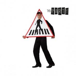 Costume per Adulti Th3 Party 6192 Insegna stradale