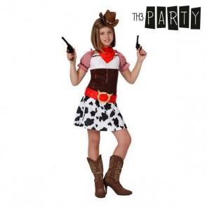 Costume per Bambini Cowboy donna