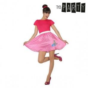 Costume per Adulti Anni 50 Rosa