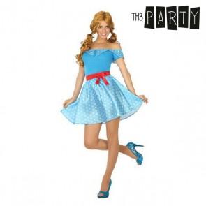Costume per Adulti Anni 50 Azzurro