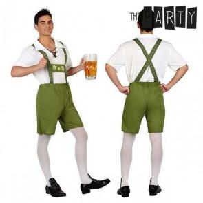 Costume per Adulti Tedesco Verde (2 Pcs)