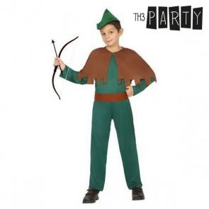 Costume per Bambini Arciere uomo (5 Pcs)