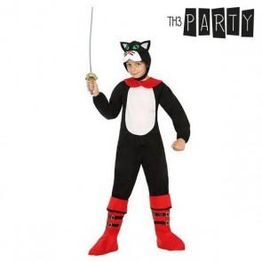 Costume per Bambini Gatto con gli stivali (2 Pcs)