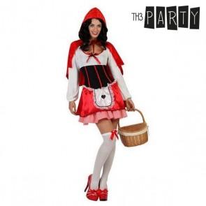 Costume per Adulti Cappuccetto rosso (3 Pcs)