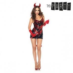 Costume per Adulti Diavolo donna sexy (3 Pcs)