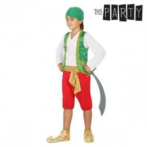 Costume per Bambini Pirata arabo Verde (4 Pcs)