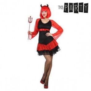 Costume per Adulti Demonio donna sexy (2 Pcs)