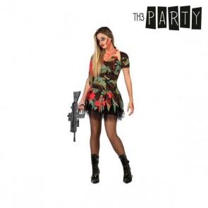 Costume per Adulti Militare zombie sexy