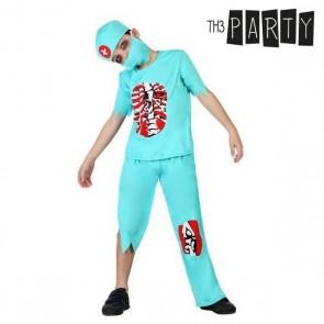 Costume per Bambini Dottore zombie (4 Pcs)