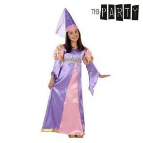 Costume per Bambini Principessa medievale (2 Pcs)
