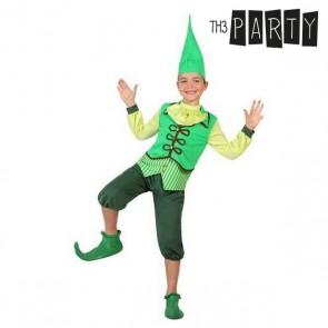 Costume per Bambini Folletto Verde (4 Pcs)