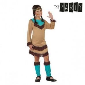 Costume per Bambini Indiana Azzurro (4 Pcs)