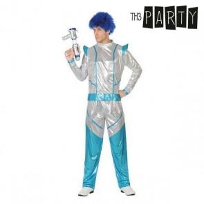 Costume per Adulti Soldato spaziale Azzurro