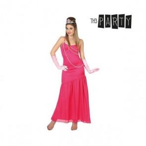 Costume per Adulti Dama Rosa