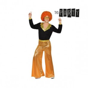 Costume per Adulti Disco Arancio