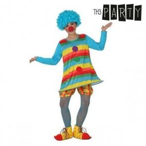 Costume per Bambini Pagliaccio donna (2 Pcs)