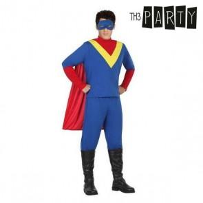 Costume per Adulti Supereroe (4 Pcs)