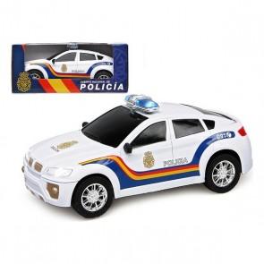 Macchina Poliziotto Bianco 110223