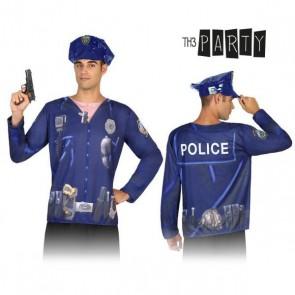 Maglia per adulti 7598 Poliziotto