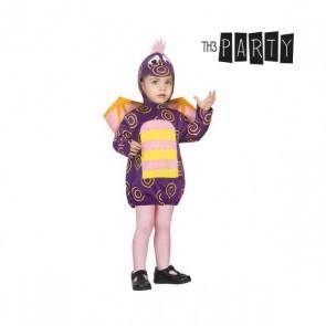 Costume per Neonati Drago Viola
