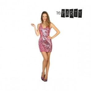 Costume per Adulti Disco Rosa