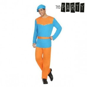 Costume per Adulti Paggio Azzurro (4 Pcs)