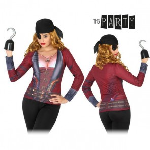 Maglia per adulti Th3 Party 8256 Pirata donna