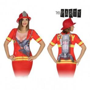 Maglia per adulti 8263 Pompiere donna