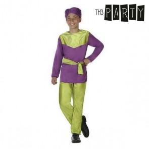 Costume per Bambini Paggio Viola (4 Pcs)