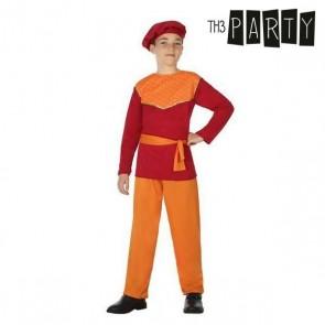 Costume per Bambini Paggio Rosso (4 Pcs)