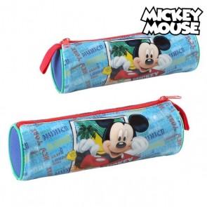 Astuccio Scuola Cilindrico Mickey Mouse 32350 Azzurro