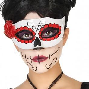 Mascherina Halloween Bianco
